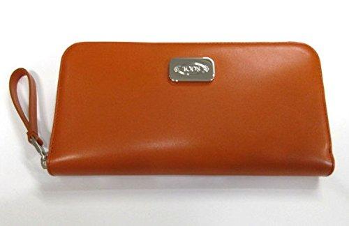(トッズ) TOD'S ラウンドファスナー長財布 TOD'Sプレート オレンジ t81 [並行輸入品] B077HSH36W