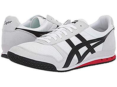 best service 7972f ad258 Onitsuka Tiger Unisex Ultimate 81¿ White/Black 7.5 Women / 6 Men M US