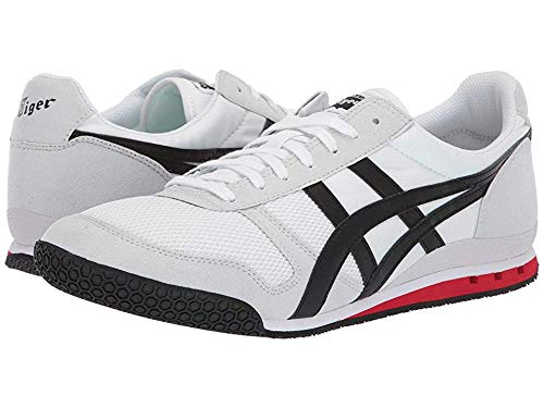 (Onitsuka Tiger Unisex Ultimate 81¿ White/Black 11 Women / 9.5 Men M US)