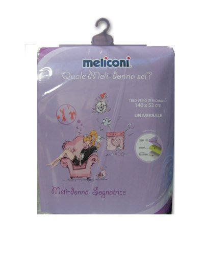 Meliconi Cover Universal Ironing Melidonna Dreamer - 140 cm x 53 cm by meliconi