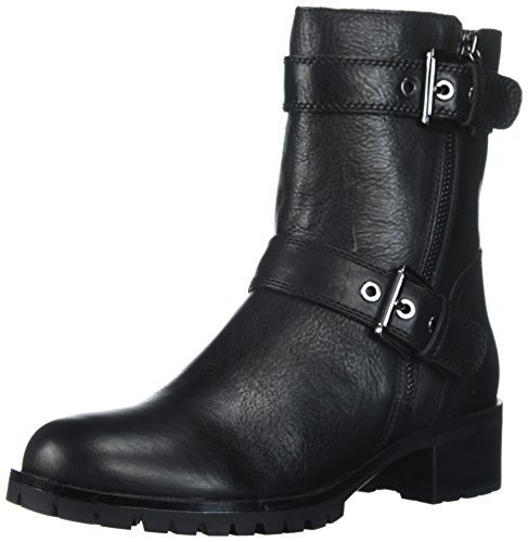 Black Biker Boots For Women - 6
