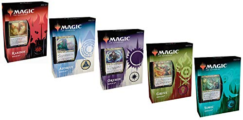 Magic: The Gathering MTG Ravnica Allegiance Guild Kit All 5 - Import It All