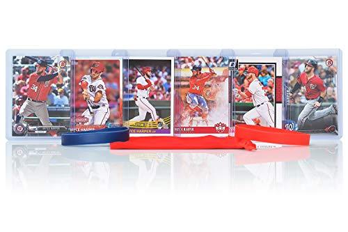 National Baseball Card - Bryce Harper (6) Assorted Baseball Cards Bundle - Washington Nationals Trading Cards
