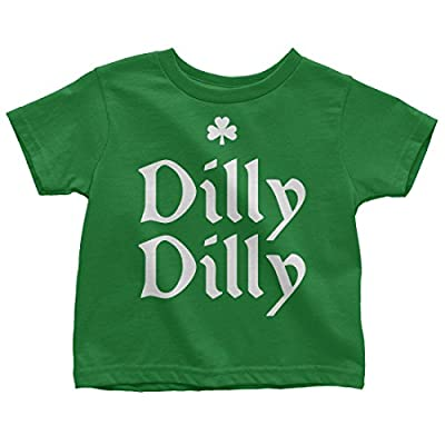 Mixtbrand Kids Dilly Dilly ST. Patrick's Day Toddler T-Shirt