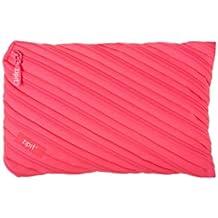 ZIPIT Neon Jumbo Pencil Case, Dazzling Pink