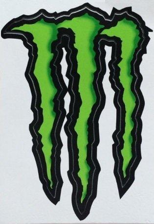 monster energy truck decal - 3