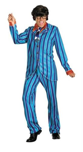Costumes For All Occasions DG38910D Austin Powers Carnaby Suit 42-44 (Adult Austin Powers Costume)