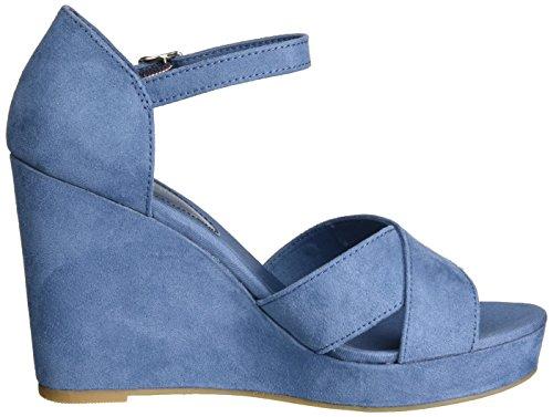 Tommy E1285lena Jeans a Mujer para 013 Sandalias con Hilfiger 45d Cu Azul OraRq1OSw