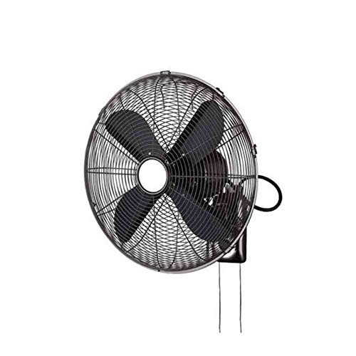 Sunny Luxury Wall Mounted Fan, High Velocity Retro All Metal Industrial Fan,16 inch,Ideal Home Office Storefront, 4 (Rust Rose Pedestal)