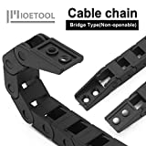 LMioEtool Black Plastic Cable Wire Carrier Drag