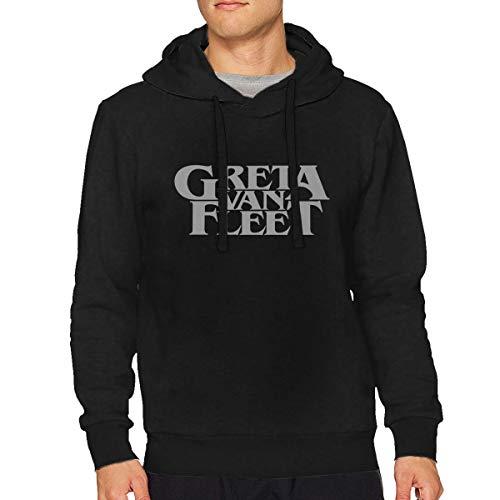 Lyttle-Sweatshirt Black Mens Generic Greta Van Fleet Cool Ho