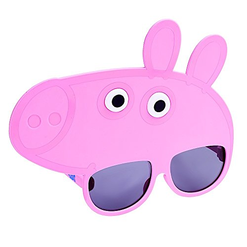 Costume Sunglasses Peppa Pig Sun-Staches Party Favors UV400 ()