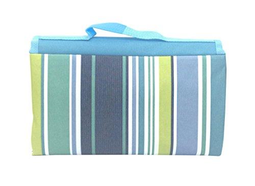 [해외]IoneStar 피크닉 담요 방수 워셔블 엑스트라 라지 (78in 59in), 가족 용 대형 오버 사이즈 옥외 담요 Blue Foldable for Baby Kids, Big Beach Sa/IoneStar Picnic Blanket Waterproof Washable Extra Large(78in 59in) for Family Size, Oversized ...