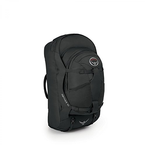 Osprey Packs Farpoint 70 Travel Backpack, Volcanic Grey, Small/Medium