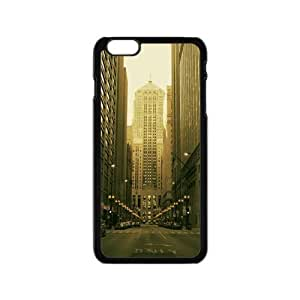 New York City Street View Vintage Fashion Design Art Print Custom case cover for HTC One M8