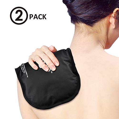 NEWGO® Ice Pack for Shoulder Injuries Flexible Hot Cold Compress for Back Neck Arm Knee Elbow (11.81 x 7.08) - 2 Pack
