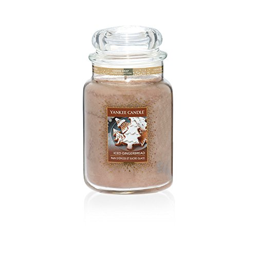 Iced Gingerbread (Yankee Candle Iced Gingerbread Large Jar)