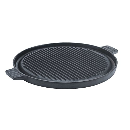 Tabletops Basic Essentials Pre Seasoned Cast Iron Cookware, 14