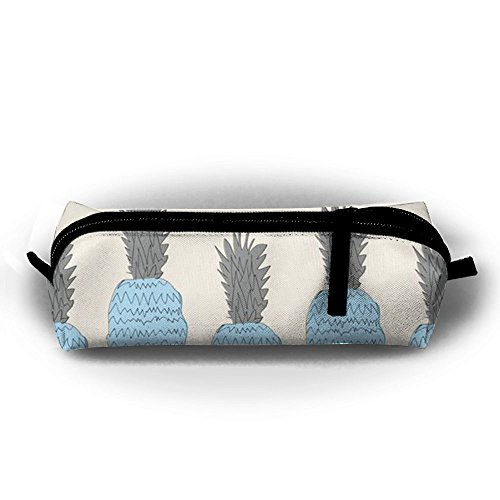 Miyv-q Celeste Pineapple Washable Canvas Pen Holder Bags Stationery Pouch Pencil Pen Case ()