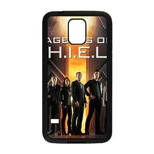 Samsung Galaxy S5 Phone Case Black s.h.i.e.l.d HOD536163