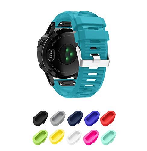 Supore-Compatibel Armband voor Fenix 5X/Fenix 6X Sporthorloge; siliconen sportarmband, horlogeband, riem, reservearmband…