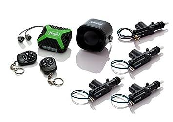 Coche alarmas central Lock + inmovilizador + ultrasónico de ...