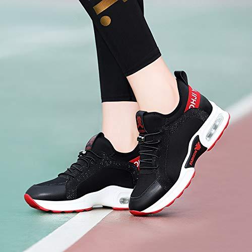 GTVERNH Frauen Frauen Frauen Schuhe Sportschuhe Luftkissenfahrzeuge Square Dance Dance Schuhe Koreanischen Version Laufschuhe Damenschuhe Im Herbst. 34bad0