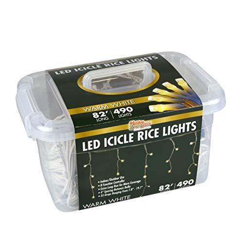 Icicle Led Lights Warm White