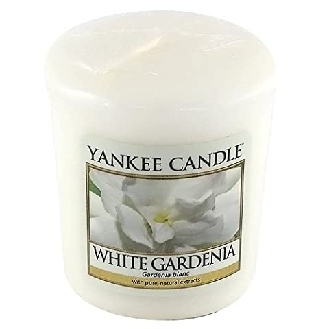 Yankee Candle White Gardenia Votive Sample