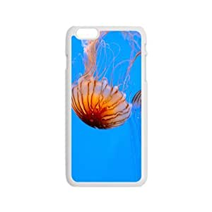 Peculiar Jellyfish Hight Quality Plastic Case for Iphone 6