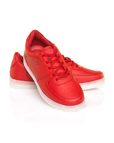 Cash Money - Zapatillas para hombre Rojo