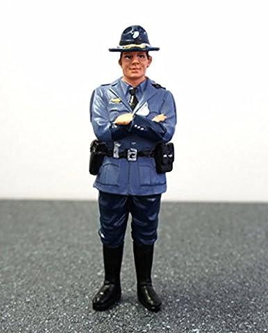 State Trooper Tim Figure For 1:24 Diecast Model Cars by American Diorama 16161 - Trooper Model