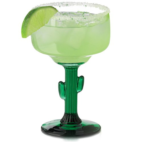 - Cactus 12 oz. Margarita Glass (Set of 12)