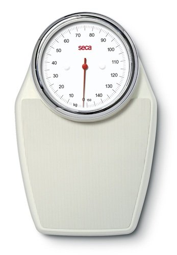 Seca Classic Big Dial Floor Scale, Pearl White