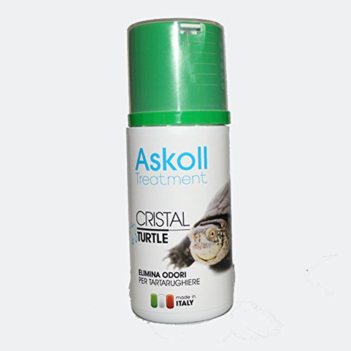 Askoll cristal turtle elimina odori per tartarughiere 100 ml