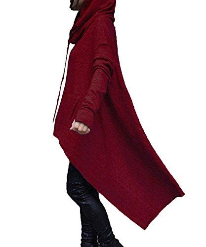 con capucha Sudadera capucha moda con suelta Chaqueta Sudadera Chaqueta de T Aibayleef R4p6gw6