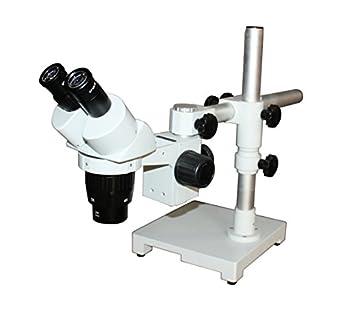 Radical 10 x -30 x estéreo profesional PCB Soldador Electrónica Disección Móvil Reparación Microscopio 100 mm Distancia de trabajo Boom XYZ Soporte de ...