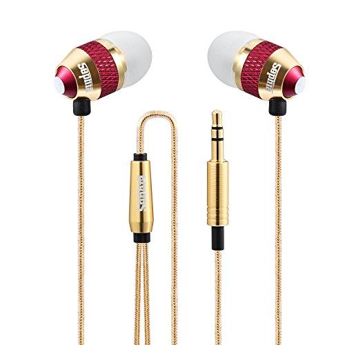 Sephia SP1050 Noise Isolating in-ear Earphones Headphones, HEAVY DEEP BASS for iPhone, iPad, iPod, Samsung Galaxy, MP3 Players, Nokia, HTC, Nexus, BlackBerry