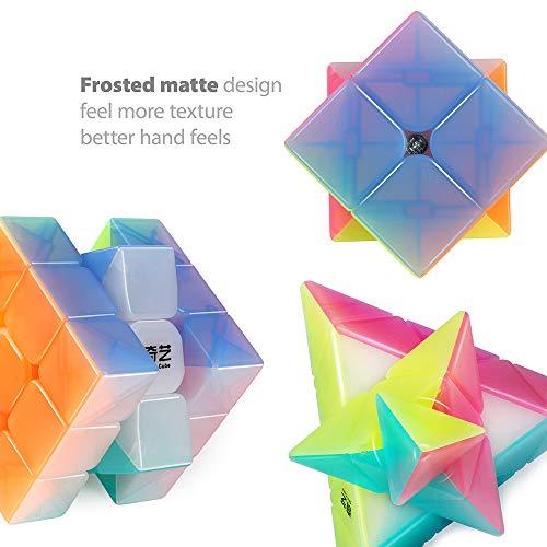 Qidi S 2x2 Warrior W 3x3 Qiming Pyramid Magic Cube Puzzle Qiyi Speed Cube Set