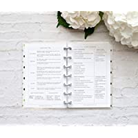 "BetterNote Cleaning Schedule for the Mini Happy Planner, Fits 7-Disc Notebook, Create 365 Planner Pages, 4.625""x7"" (Planner Not Included)"