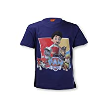 Boys Official Paw Patrol Tshirt Top Age 3 to 8 Years