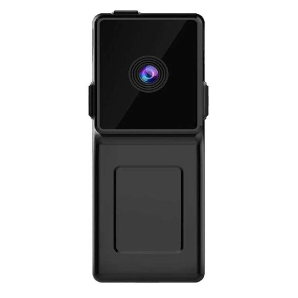 LCM Cámara Wireless Portátil Tarjeta Pequeña Cámara Control De Voz Cámara De Vigilancia Mini DV Negro: Amazon.es: Hogar