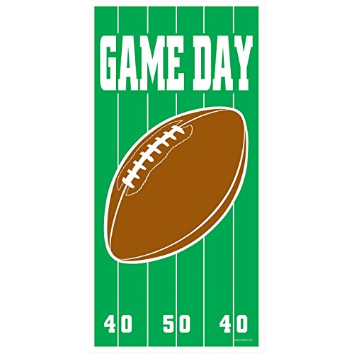 Football Door Decorations - Game Day Football Door Cover 30in.