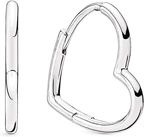 Orecchini cuore argento Pandora 298307C00: Amazon.it: Abbigliamento