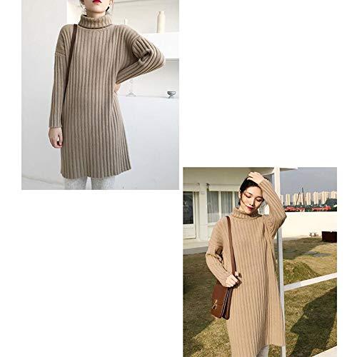 Sheng Maglione Filo 4 3 Fashion Hong Lungo Pit Collo Alto Wild 7RFAdwqC