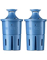 Brita Longlast Water Filter, LONGLAST + Replacement Filters for Pitcher and Dispensers, Reduces Lead, BPA Free - 2 Count