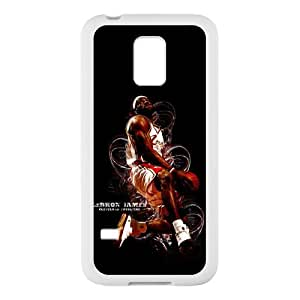 Slam dunk Lebron James Custom Case Cover for SamSung Galaxy S5 mini (Laser Technology)