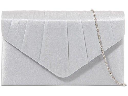 Silver Pochette HotStyleZone femme pour M PXFvXqwBxI