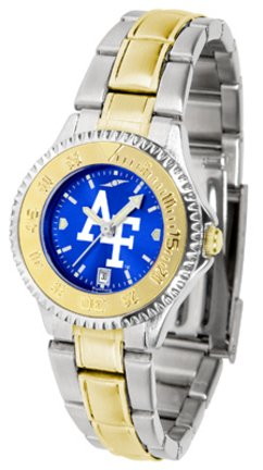 Air Force Academy Falcons Competitor Ladies Watch with Two-Tone Band
