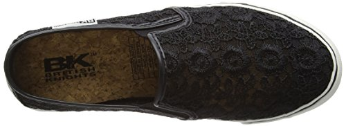 British Knights Cara Damen Slipper Schwarz (Black-Mint 04)